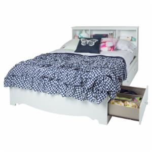South Shore Crystal Full Bookcase Storage Bed