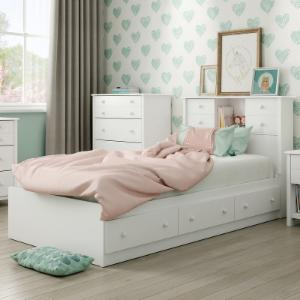 South Shore Little Smileys Bookcase Storage Bed
