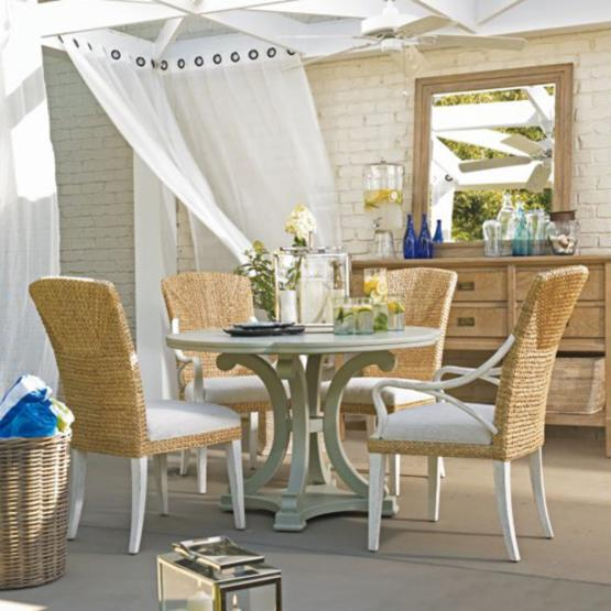 Stanley Coastal Living Resort Seascape Urchin 5 Piece Dining Set