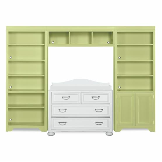 Young America Harbor Town 4 Drawer Dresser+Changing Station