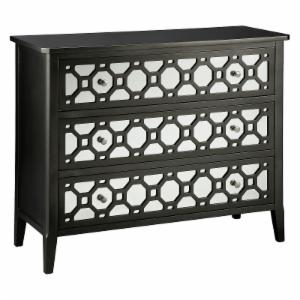 Brockway 3 Drawer Mirrored Chest