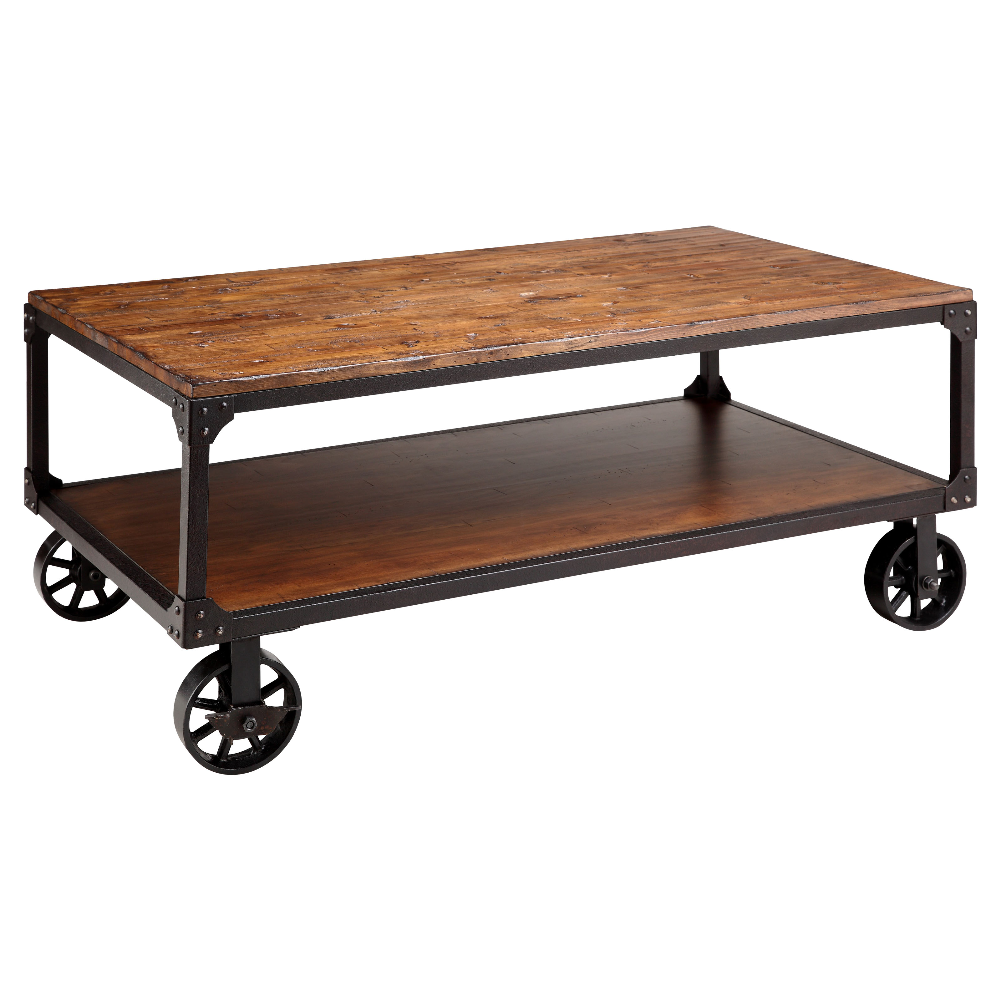 Factory Cart Coffee Tables