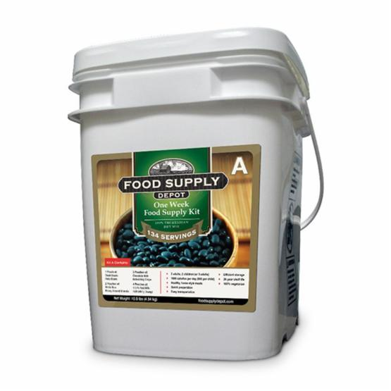 Stansport Food Supply Depot 1 Week Family Food Supply Kit Bucket