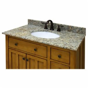 Sagehill Designs 37W x 22D in. Vanity Top with Undermount Sink