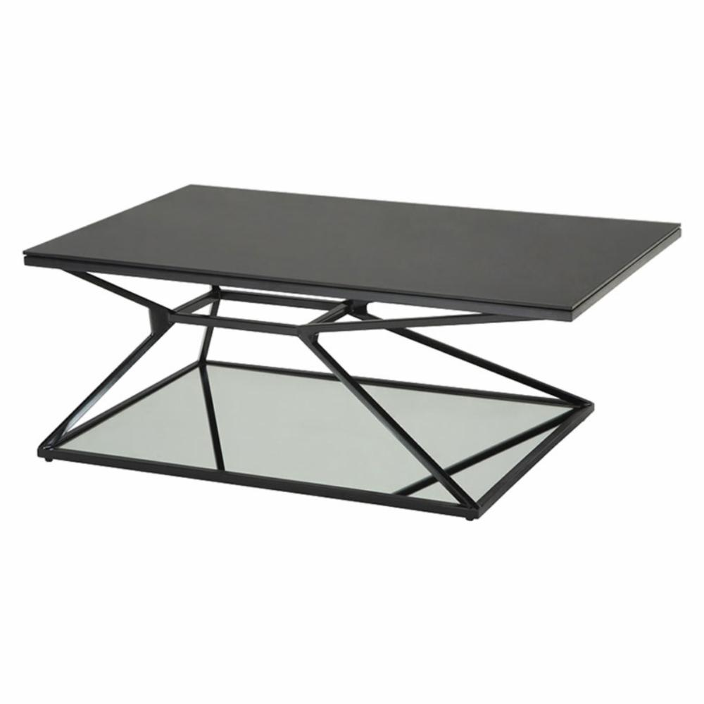 sunpan wedge rectangle coffee table - coffee tables at hayneedle