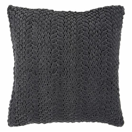 Surya Arrowhead Decorative Pillow - Black