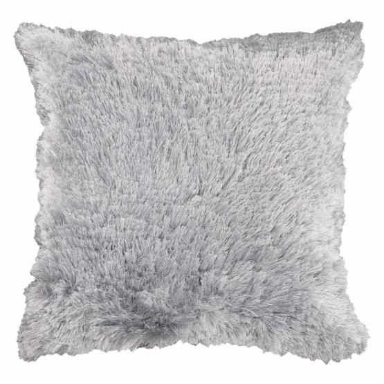 Surya Whispersoft Decorative Pillow - Light Gray