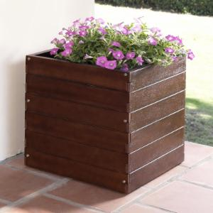 Belham Living Winfield Square Planter - 19W x 19D x 19H in.