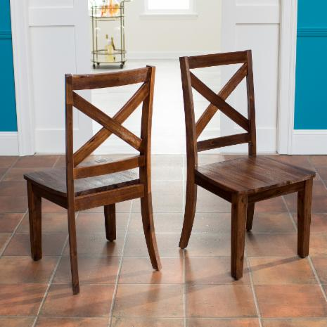 Belham Living Harrison Farmhouse Brushed Espresso Dining Chair