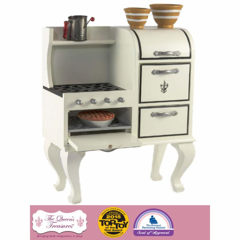 Queen's Treasures 18 in. Doll 1930s American Style Stove ...