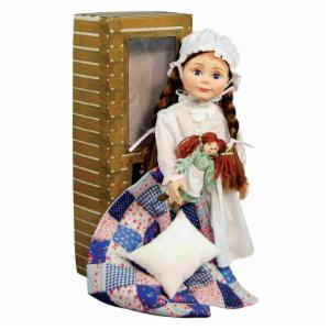 Queen's Treasures Officially Licensed Little House on the Prairie Laura Ingalls 18 in. Doll