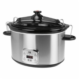 Kalorik Digital Slow Cooker with Locking Lid