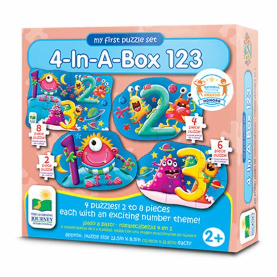 Learning Journey  My First Match It! 4-In-A-Box 123