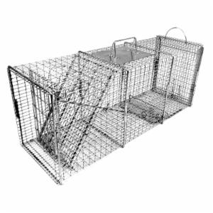 Tomahawk Professional Series Rigid Trap with Easy Release Door for Raccoons/Feral Cats/Badgers