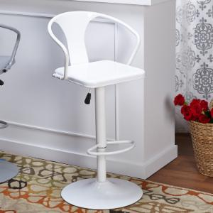 Target Marketing Systems Adjustable Height Bar Stool