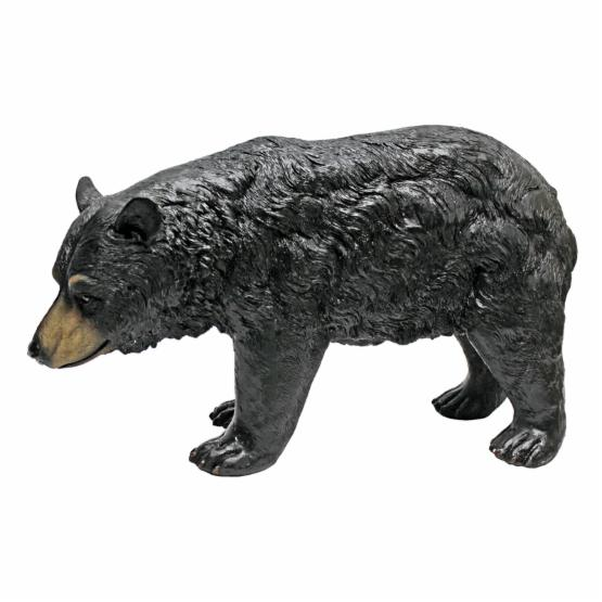 Design Toscano North American Black Bear Walking Statue