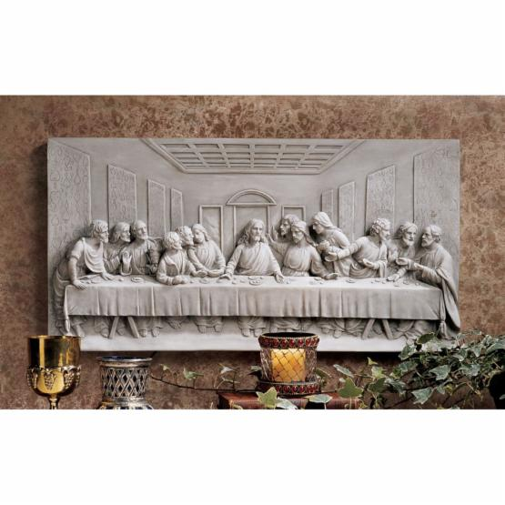 Design Toscano The Last Supper Wall Frieze