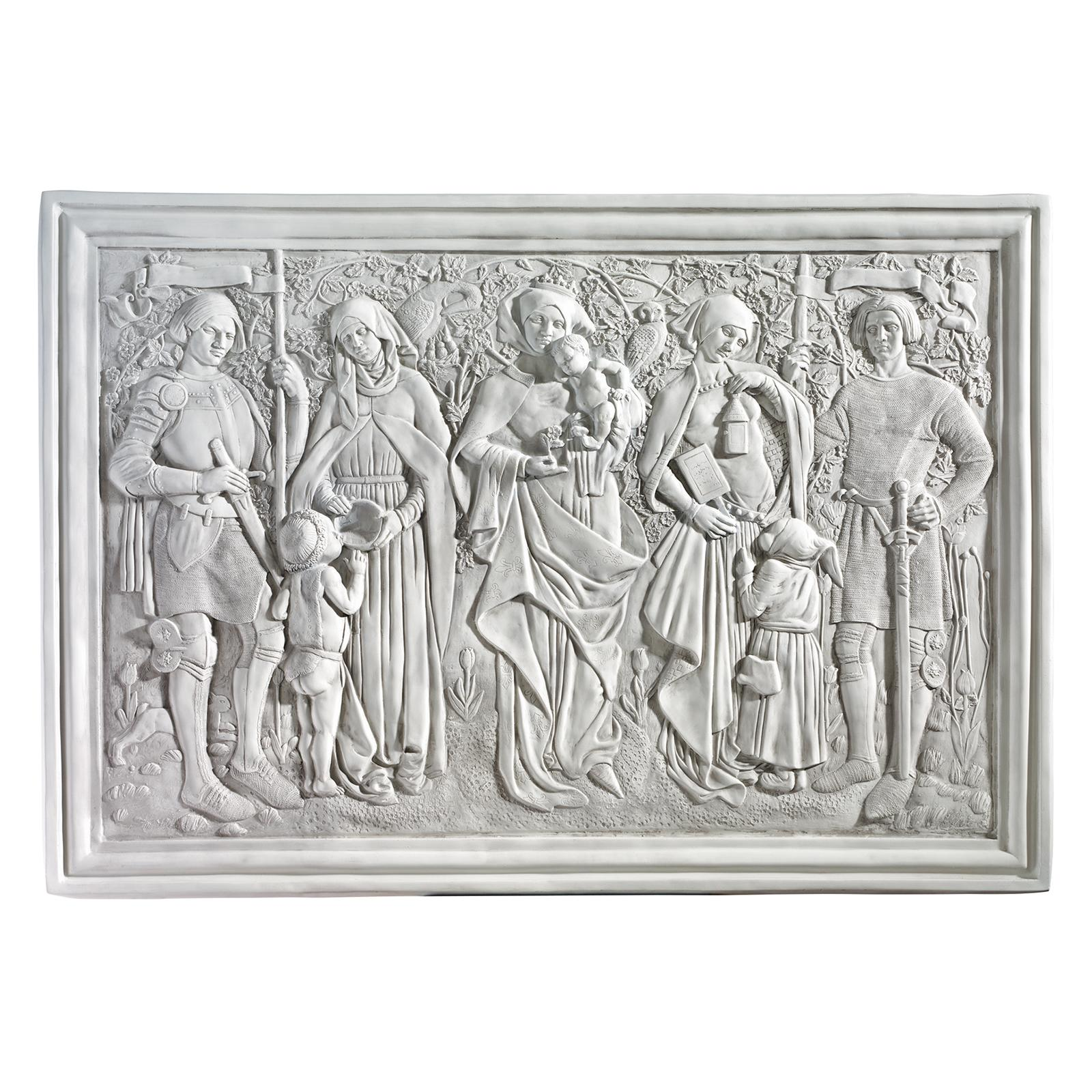 Design Toscano Virtues of Honor Sculptural Wall Frieze - ...
