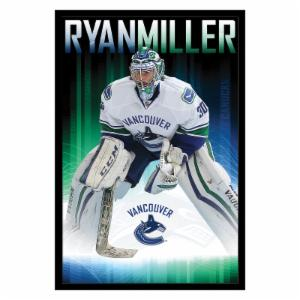 Trends International Vancouver Canucks - Ryan Miller Wall Poster - 22W x 34H in.