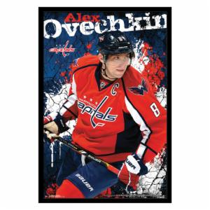 Trends International Washington Capitals - Alexander Ovechkin Wall Poster - 22W x 34H in.