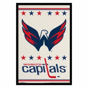 Trends International Washington Capitals - Logo Wall Poster - 22W x 34H in.