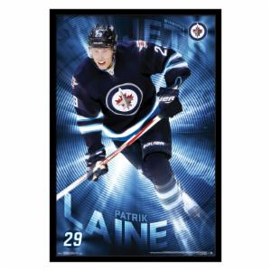 Trends International Winnipeg Jets - Patrick Laine Wall Poster - 22W x 34H in.