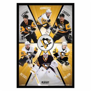 Trends International Pittsburgh Penguins - Group Wall Poster - 22W x 34H in.