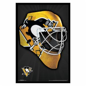 Trends International Pittsburgh Penguins - Mask Wall Poster - 22W x 34H in.