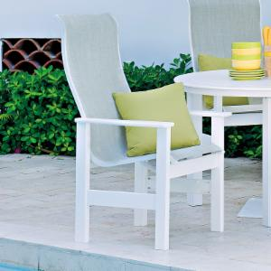 Telescope Casual Leeward Sling Supreme Dining Chair