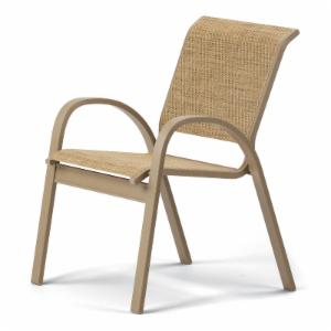Telescope Casual Aruba II Sling Stacking Cafe Dining Chair