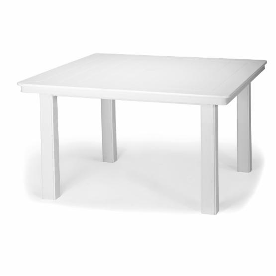 Telescope Casual 42 in. Marine Grade Polymer Square Conversation Height Table