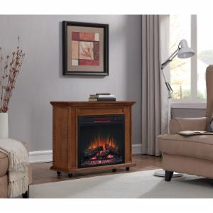Duraflame Rolling Mantel Infrared Fireplace