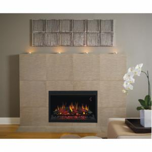 Classic Flame 36 in. Built-in Electric Insert Fireplace