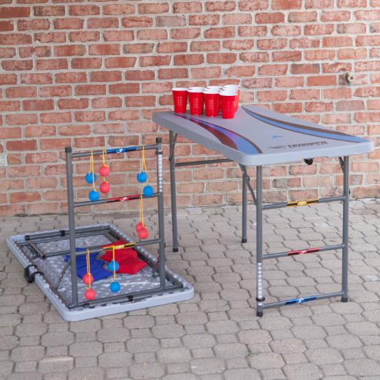 Triumph Sports 84 in. 4-in-1 Tailgate Table