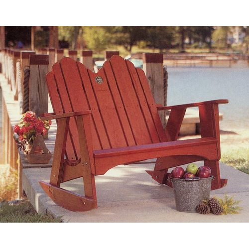 QUICK VIEW. Uwharrie Original Two Seater Rocking Chair