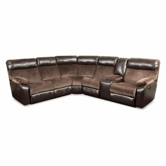 Simmons Upholstery Manhattan Beautyrest Motion Sectional Sofa