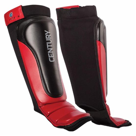 Century Drive MMA Shin Instep - Red/Black