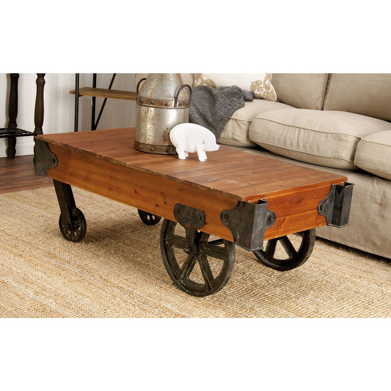 QUICK VIEW. DecMode Wood Coffee Table. $217.58