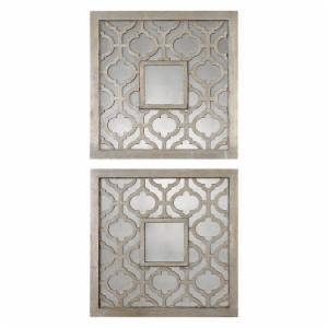 Uttermost sorbolo Squares Wall Art - Set of 2