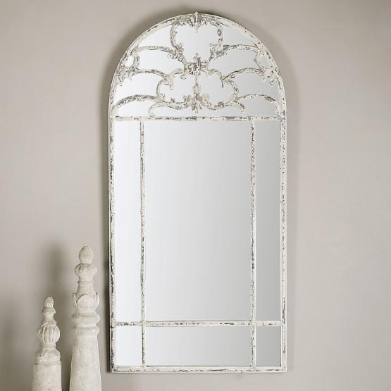 Uttermost Gavarresa Arched Wall Mirror - 30W x 60.25H in.