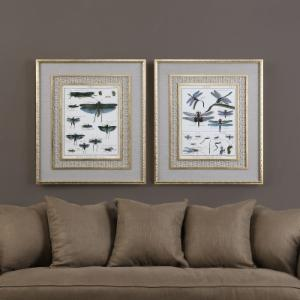 Uttermost Naturelle Insects Wall Art - Set of 2
