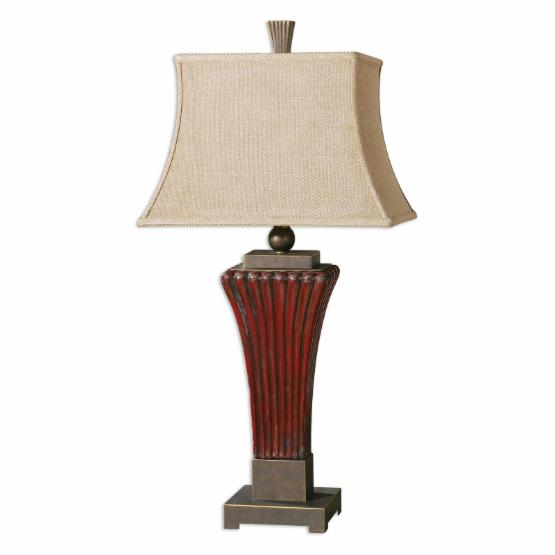Uttermost Rosso Table Lamp