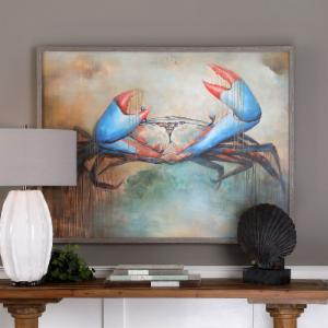 Uttermost Sam The Crab Wall Art