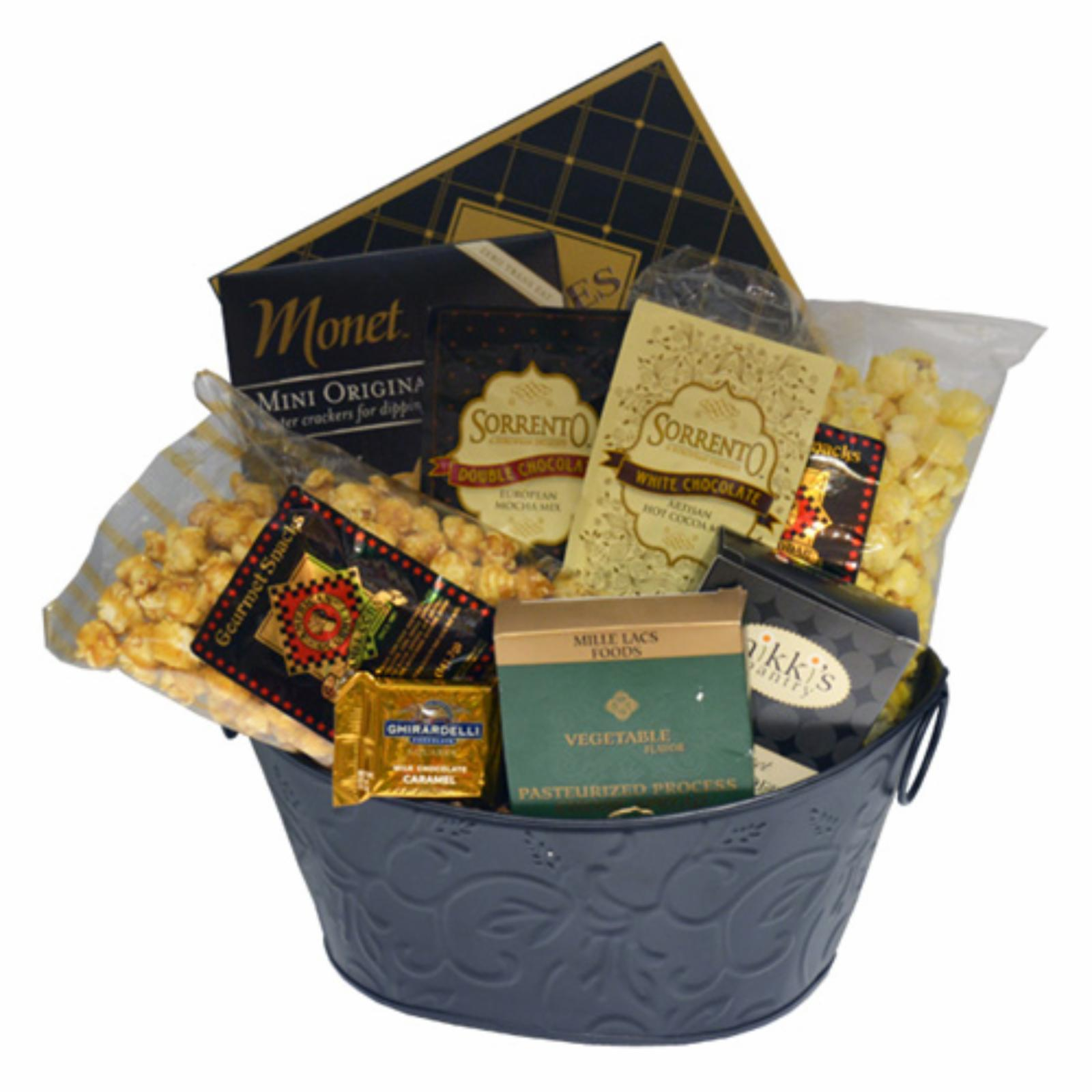 Nikki's by Design With Sympathy Gift Basket - 1728