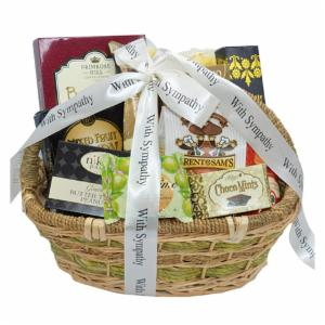 Deepest Sympathy and Condolences Gourmet Gift Basket