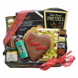 Sweet and Salty Valentines Day Gift Basket