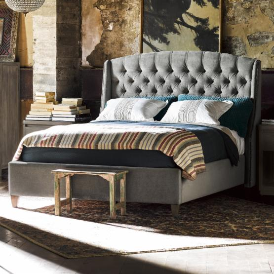 Universal Furniture Curated Halston Upholstered Standard Bed
