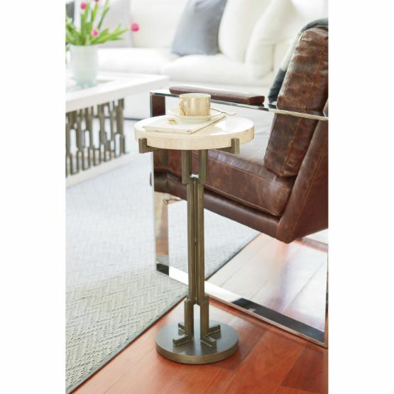 Universal Furniture Metal Chair Side Table