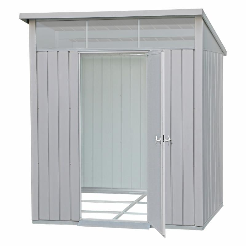 Duramax Building Products Palladium Heavy Duty Metal Storage Shed - 41872