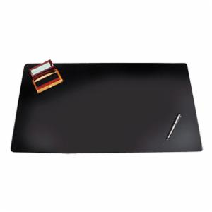 Artistic Westfield Designer Desk Pad with Decorative Stitching - 24 x 19 in. - Black